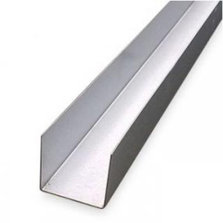 Профиль направляющий 27х28х3000 мм 0,4 мм