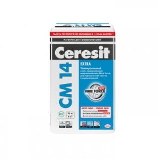 Клей для плитки Церезит СМ 14