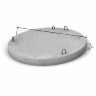 ЖБИ Бетонное дно диаметр 1,0 м