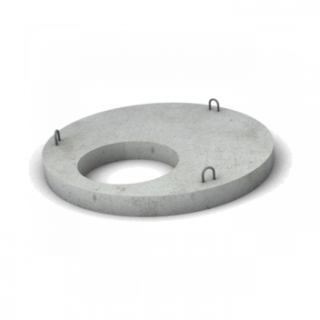 ЖБИ Бетонная крышка диаметр 1,0 м