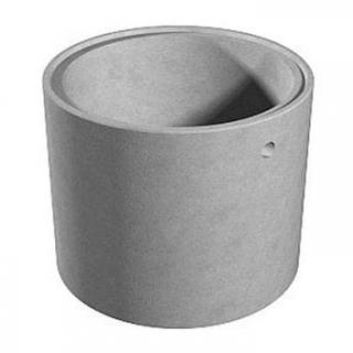 ЖБИ Бетонное кольцо диаметр 1,0 м замковое