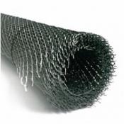 Сетка металлическая ЦПВС-40 штукатурная черная 0,8 мм рулон 9 м