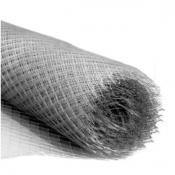 Сетка металлическая 2х2х0,4 мм тканевая (просечка)