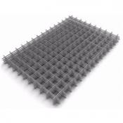 Сетка металлическая сварная 100х100х4 мм карта 2х1 м