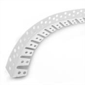 Уголок арочный перфорированный ПВХ 25х25х3000 мм
