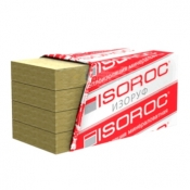 Минеральная вата 1000х500х50 мм 4,0 м2 упаковка из 8 плит Изорок П-75