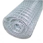 Сетка металлическая оцинкованная 10х10х1,6 мм рулон 1х15 м